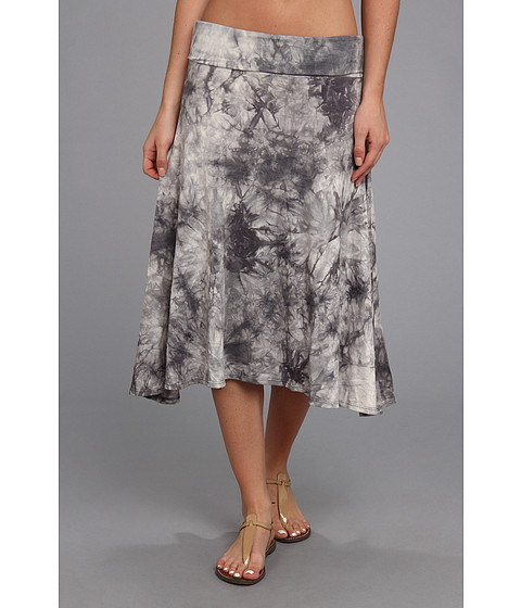 Fuste Culture Phit - Ali Fold Over Skirt - Grey Tye Dye