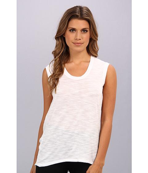Bluze BCBGMAXAZRIA - Coby Back Drape Top - White/White