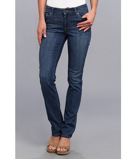 Blugi Anne Klein New York - Leo Straight Denim in Medium Wash - Medium Wash