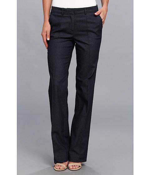 Pantaloni Anne Klein New York - Twill Pintuck Pant - Midnight Multi