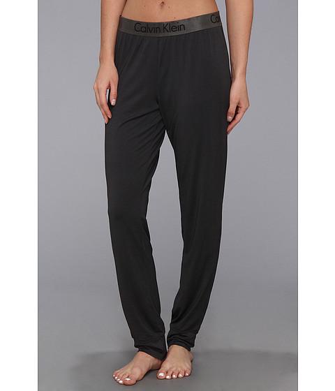 Lenjerie Calvin Klein - Dual Tone Pajama Pant - Black/Shadow Grey