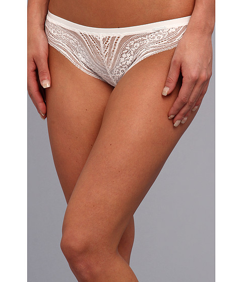 Lenjerie Calvin Klein - Infinite Lace Thong - White