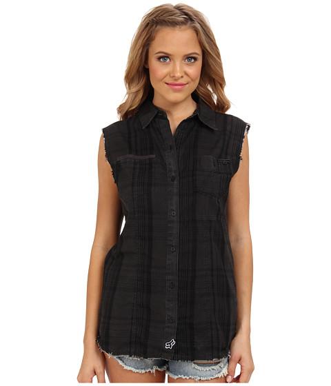 Camasi Fox - Shadow Sleeveless Shirt - Black