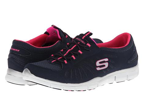 Adidasi SKECHERS - In-Motion - Navy/Hot Pink