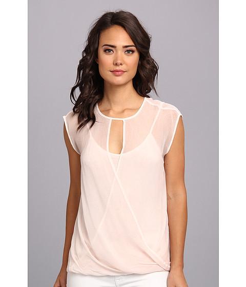 Bluze DKNY - Favorite Wrap Blouse - Pink Sand