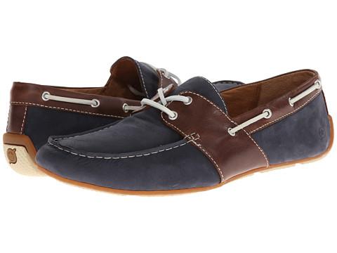 Pantofi Born - Draper - Navy/Brown