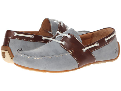 Pantofi Born - Draper - Light Blue/Brown