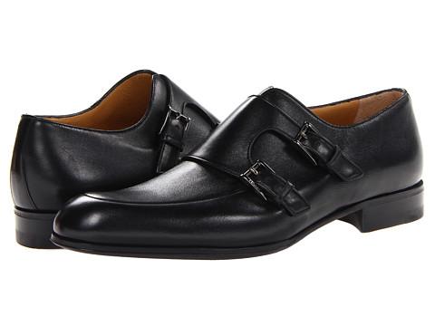 Pantofi A. Testoni - Black Label Deluxe Calf Monk - Black