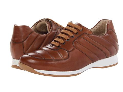 Pantofi A. Testoni - Calf Sneaker - Brandy