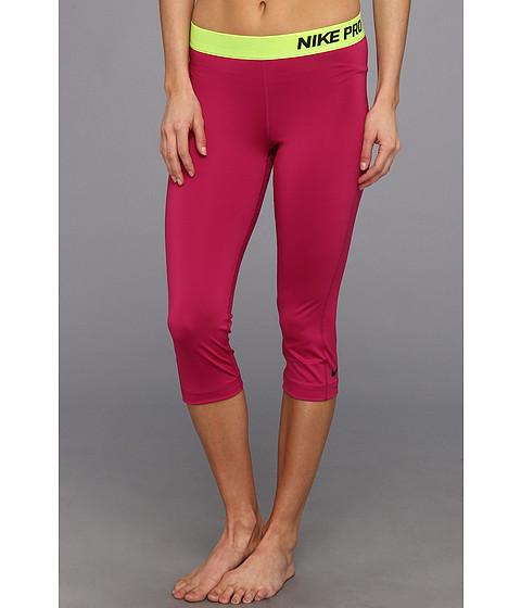 Pantaloni Nike - Pro Capri - Bright Magenta/Black