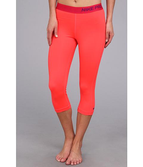 Pantaloni Nike - Pro Capri - Laser Crimson/Bright Grape