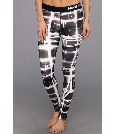 Pantaloni Nike - Pro Printed Tight - Black/White
