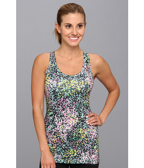 Bluze Nike - Printed G87 Tank Top - Diffused Jade/Red Violet/White