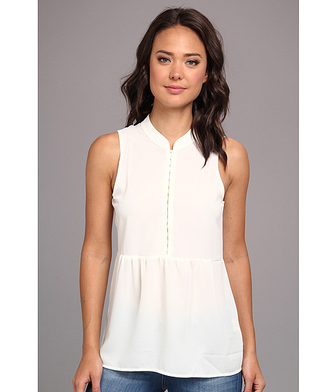 Bluze Gabriella Rocha - Amy Sleeveless Baby Doll Top - Ivory