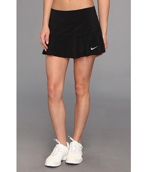 Fuste Nike - Pleated Woven Skort - Black/Matte Silver