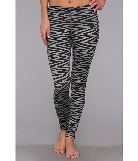 Pantaloni Nike - RU W AOP Legging - Black/Black