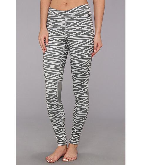 Pantaloni Nike - RU W AOP Legging - Medium Base Grey/Black