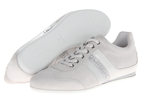 Adidasi Bikkembergs - Logo Sneaker BKE106870 - Shiny Suede Ice