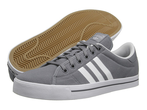 Adidasi adidas - Adi Court Stripes - Tech Grey/White/Tech Grey