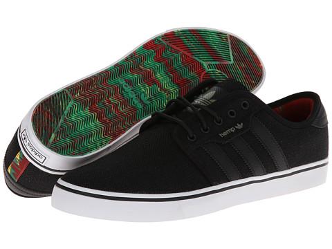 Adidasi adidas - Seeley - Hemp - Black/ST Tent Green/Light Scarlet