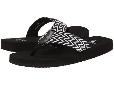 Sandale Corkys - Bebop - Black/White