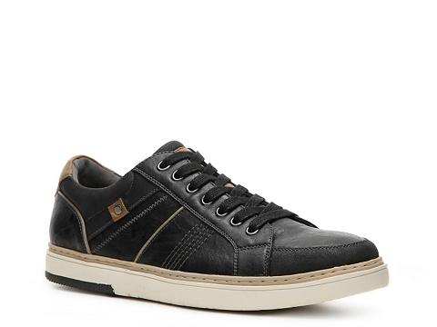 Pantofi Studio Ink - Low-Top Sneaker - Black/Tan