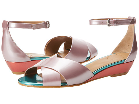 Sandale Marc by Marc Jacobs - Simplicity Demi Wedge Sandal - Pink/Green/Coral