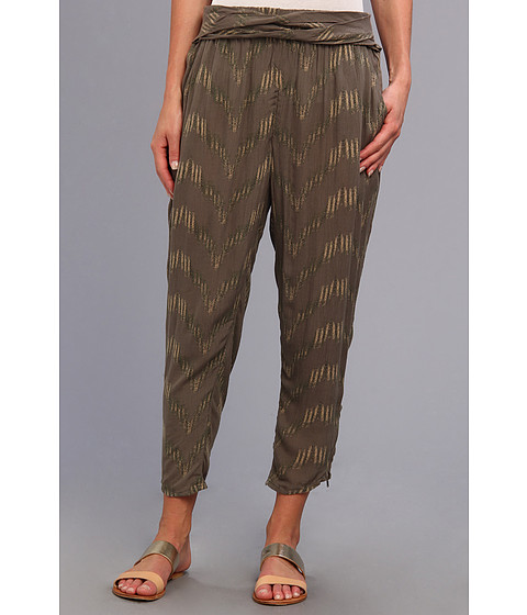 Pantaloni Free People - Printed Twisted Ikat Pant - Martini Combo