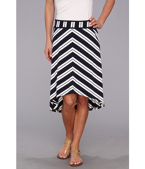 Fuste Michael Stars - Bastille Stripe Skirt - Navy/White