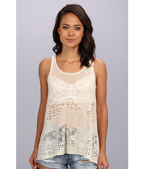 Bluze Free People - Lola\s Tank Top - Ivory Combo