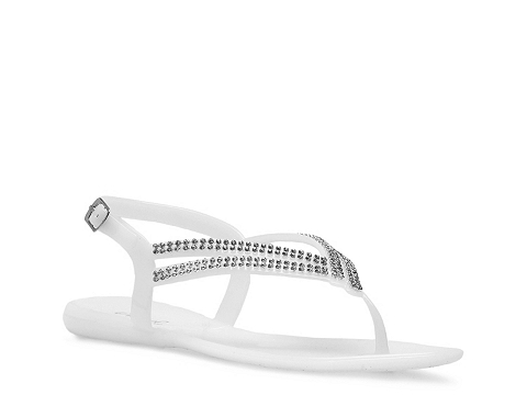 Sandale Qupid - Getty-01 Flat Sandal - White