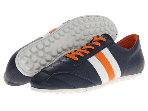 Adidasi Bikkembergs - Soccer 106 Low Top Trainer - Blue/White/Orange