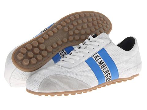 Adidasi Bikkembergs - Soccer 106 Low Top Trainer - White/Bluette