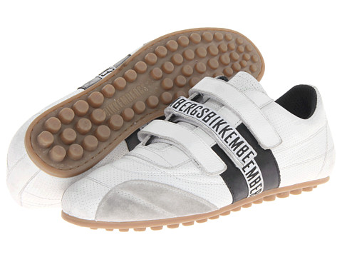 Adidasi Bikkembergs - Soccer 526 Low Top Trainer - White/Black