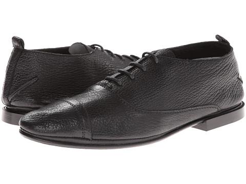 Pantofi Costume National - Cap Toe Oxford - Black