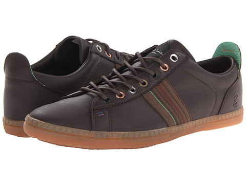 Adidasi Paul Smith - Osmo Stripe Sneaker - Dark Brown
