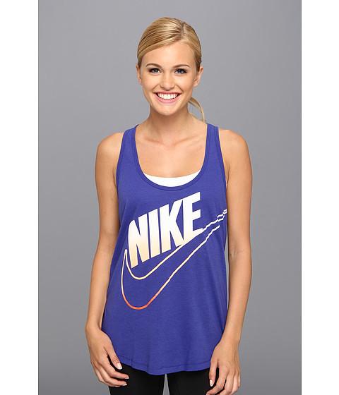 Bluze Nike - Futura Fade Loose Tank - Deep Night