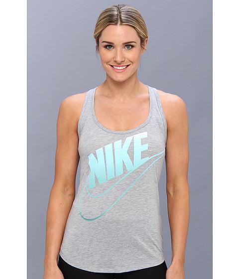Bluze Nike - Futura Fade Loose Tank - Dark Grey Heather