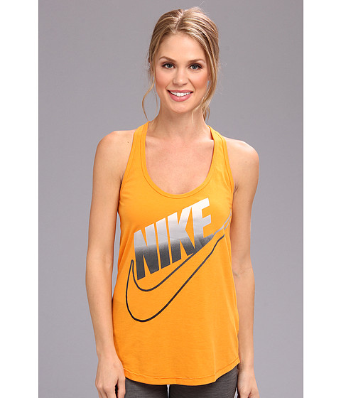 Bluze Nike - Futura Fade Loose Tank - Kumquat/Dark Grey Heather/Sail