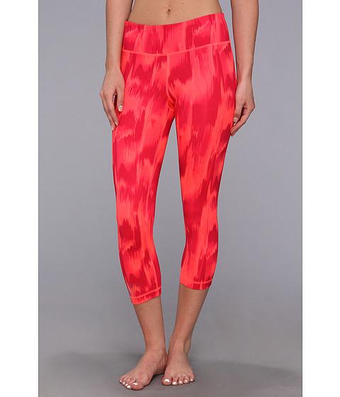 Pantaloni Under Armour - Perfect Tight Printed Capri - Neo Pulse/Metallic Pewter