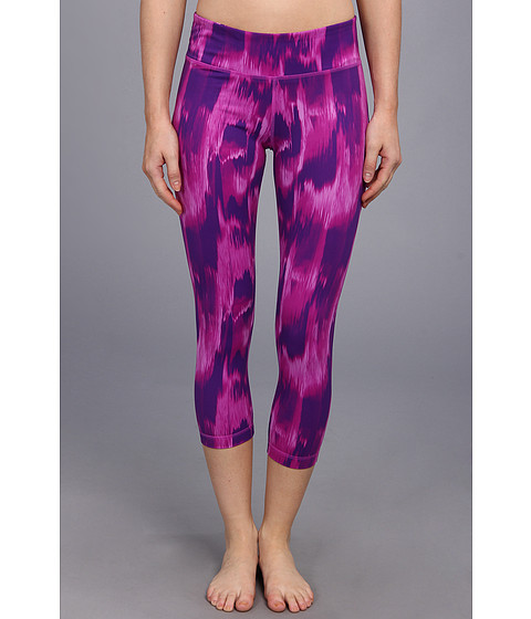 Pantaloni Under Armour - Perfect Tight Printed Capri - Pride/Metallic Pewter