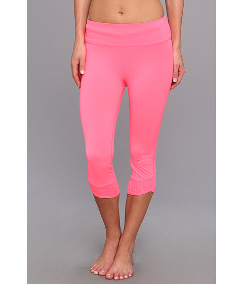 Pantaloni Under Armour - Power In PinkÃ'® Fly-By Compression Capri - Cerise/Cerise/Reflective