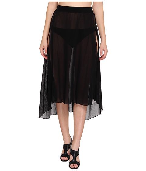 Costume de baie Jean Paul Gaultier - Solid Wrap Skirt - Black