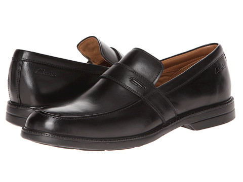 Pantofi Clarks - Bilton Saddle - Black Leather