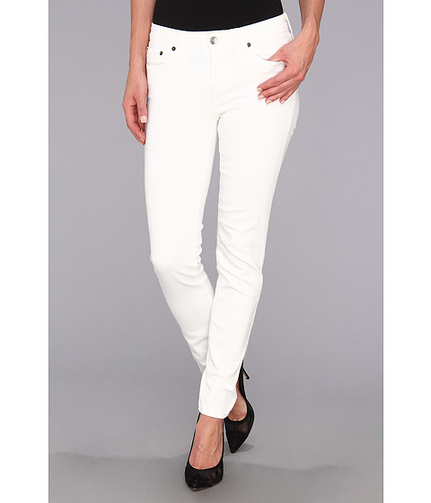 Blugi Big Star - Alex Mid Rise Skinny Jean in Distressed White - Distressed White