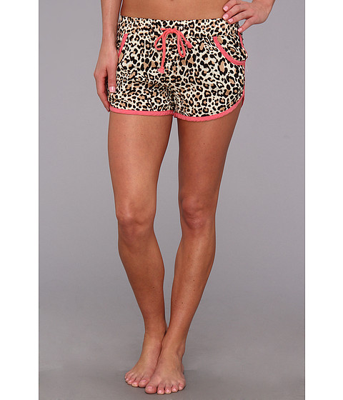 Lenjerie P.J. Salvage - Challe Separates Sleep Short - Leopard