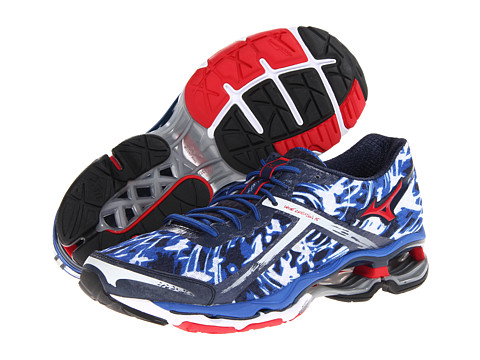 Adidasi Mizuno - WaveÃ'® Creation 15 - Olympian Blue/Chinese Red
