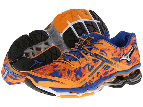 Adidasi Mizuno - WaveÃ'® Creation 15 - Bright Marigold/Silver/Olympian Blue/Orange