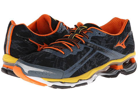 Adidasi Mizuno - WaveÃ'® Creation 15 - Dark Slate/Vibrant Orange/Black
