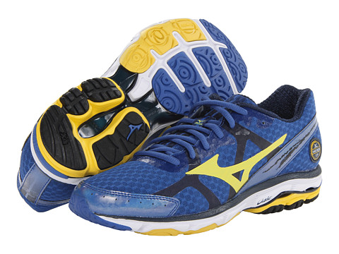 "Adidasi Mizuno - WaveÃ'® Riderâ""¢ 17 - Olympian Blue/Cyber Yellow/Dress Blue"